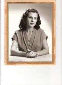 This is a portrait of the most beautiful woman - my grandmother.  People say I look like her.  And I am BEYOND flattered by that.